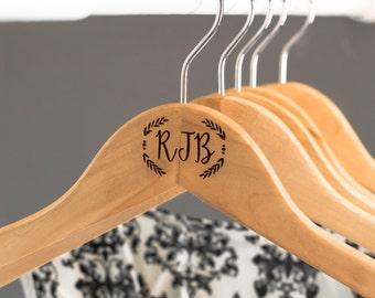 Wooden Coat Hangers - Personalised Hangers - Wooden Hangers - Clothes Hanger - Engraved Hanger -  His and Hers - Birthday Gift - Anniversary