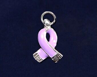 Small Lavender Ribbon Charm (RE-CHARM-06-19)