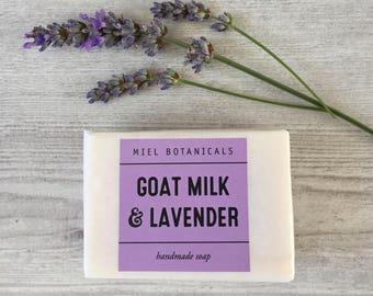 Goat Milk & Lavender Soap