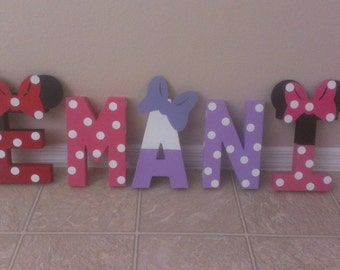Mickey Mouse Clubhouse Party- Disney Letter Art- Includes Up to 5 Letters