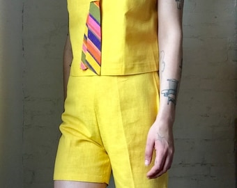 1960s Two Piece Playsuit