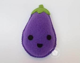 Eggplant Stuffed Animal Plush Kawaii Toy
