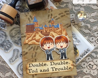 Double the Trouble with these Red-Headed Magical Twins