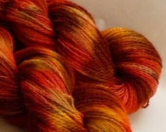 Handspun Alpaca Yarn.  2 Ply, ( FREE SHIPPING!)