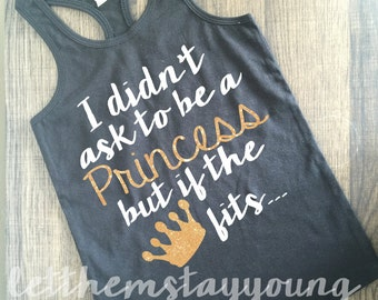 little princess shirt Shirt Tank Bow Shirt Gold Baby Girl Clothes Baby Girl Shirt Hipster Baby Clothes Baby Gift White And Gold