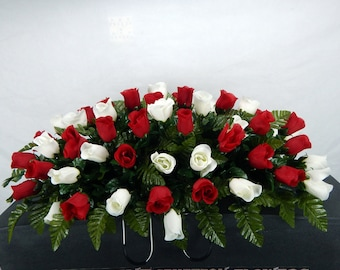 Headstone Flowers Etsy
