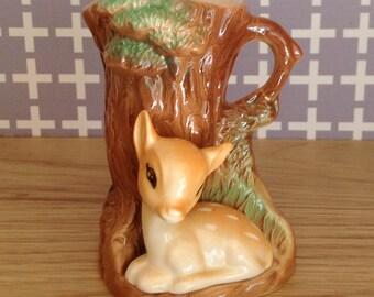 Hornsea Pottery deer vase