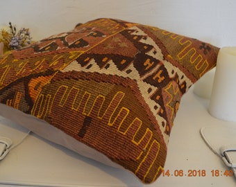 Kilim Cushions, Home Decoration Pillows, Livingroom Cushion, Throw Pillow, Wool Pillowcases, Geometric Design Pİllow
