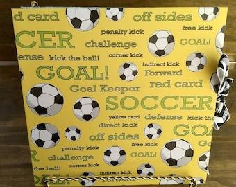 Soccer Ball | Goal | Accordion Album | Journal | Book