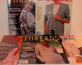 Five Threads Sewing Magazines