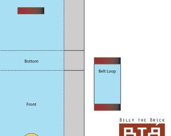 Generic Belt Pouch - Blueprints