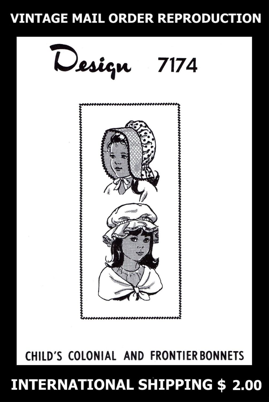 Fácil cofia Bonete sombrero de verano tela chicas 7174