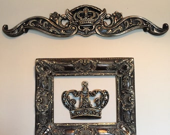Long Crown Topper Wall Decor with Bling - Free Shipping