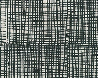 Kaufman - Valori Wells - Marks - Grid - Charcoal