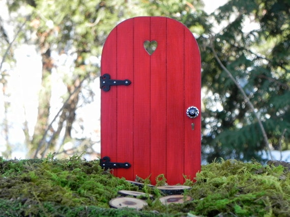 Handmade Fairy Door With Tiny Key Fairy Garden Miniature
