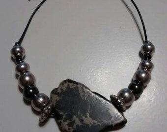 Black jasper bracelet