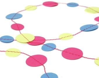 Paper Confetti Garland