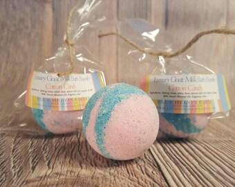 Cotton Candy Small Bath Bomb, Bath Bombs for Kids, Cotton Candy Bath Bomb