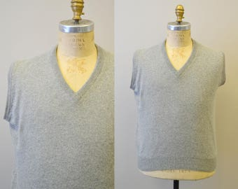 1950s Lord & Taylor Cashmere Sweater Vest