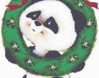 Cross Stitch Pattern, Cross Stitch Patterns, Cross Stitch, Counted Cross Stitch, Cross Stitch Chart, Xstitchpatterns, Cross Stitch Panda