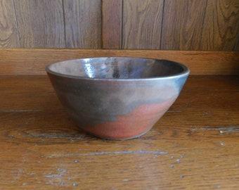 Handmade Earth Tones Bowl