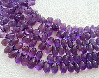 Superb Purple Natural Amethyst,AAA, Wholesale Price Offer,Full 7 inch Long Strand,7-12mm