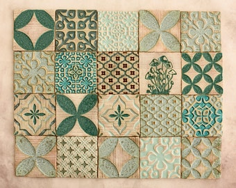Decorative tile Etsy