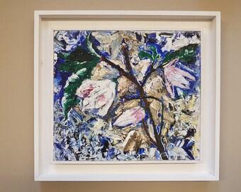 Oil painting Magnolia