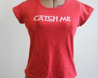 1970s Mary-France Paris Beverly Hills catch me if you can t shirt //
