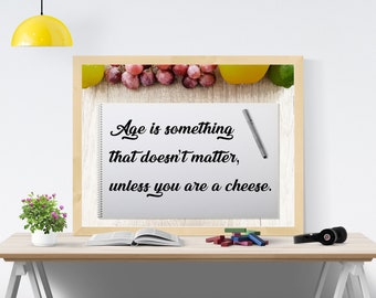 Printable Funny Quote by Luis Bunuel -- Instant Download -- Encouraging quotes -- Quote digital prints -- Inspirational art quotes