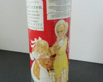 Vintage 1986 Crabtree and Evelyn Limited. Cookie container