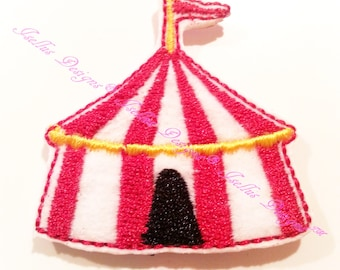 4 Piece Circus Tent Felties