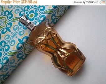 ON SALE 1995 Vintage Glass Perfume Bottle Jean Paul Gaultier Eau De Parfum Spray NOS 3.4 oz Women Lady Corset Designer Bottle For Her