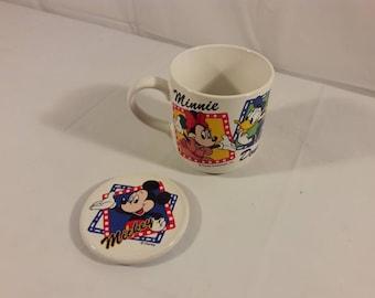 Vintage Disney Mickey Mouse Coffee Mug