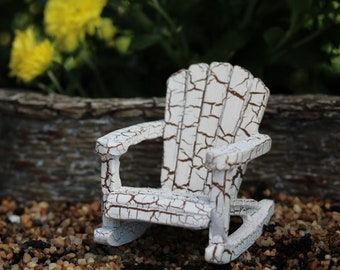 "Fairy Rocking Chair 2"" Tall for the Fairy Garden"