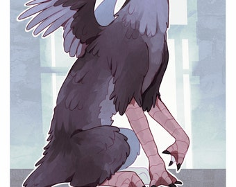 The Last Guardian - Trico - 12x18 Poster