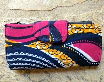 Authentic African Print Wallet