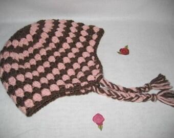 Grammies Ear Flap Hat Crochet Pattern