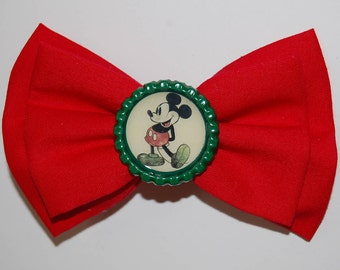 Mickey Mouse Inspired Disney Bow