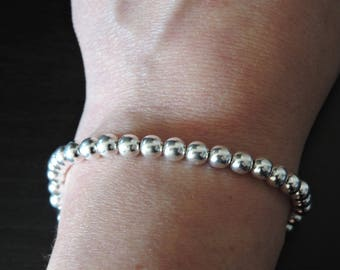 Bracelet in Sterling Silver balls