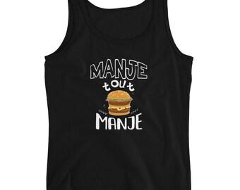 Ladies' Tank - Manje Tout Manje