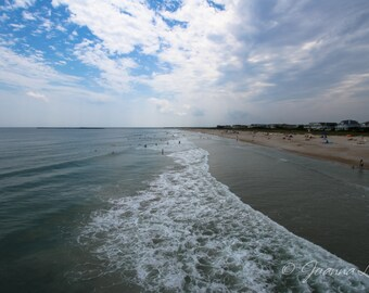 Wrightsville Beach NC - Print, Canvas Gallery Wrapped Print