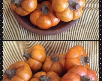 New Pattern! Primitive Folk Art Tiny Pumpkins Pattern