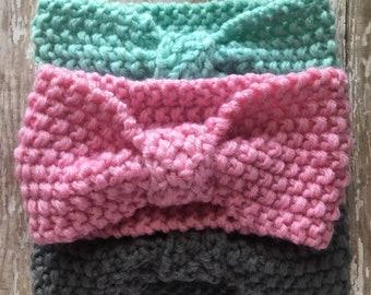 Crochet Baby Headband / Head Wrap