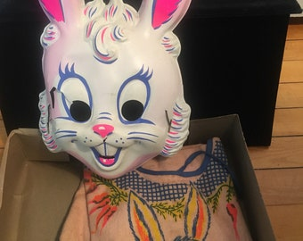 Tiny Tot Vintage Halloween Costume and Mask