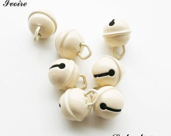 Bell 15 mm / 15 mm Bell: Ivory