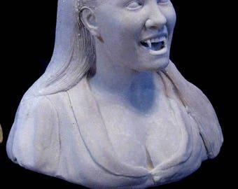 Hammer Horror Twins of Evil Madeleine Collinson Statue Portrait Bust