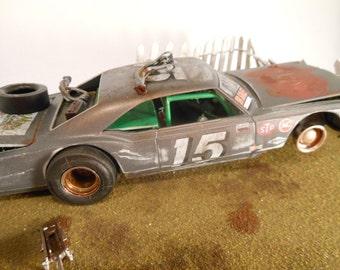 ScaleModel,RatRod,RustedWreck,Diorama,ScaleModelCar,Oldsmobile,Junkyard