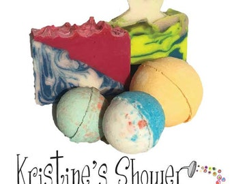 Kristine's Shower Gift Set #1 Perfect for gift giving: bridesmaid, birthday, shower gift