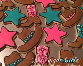 Cowboy Western Sugar Cookies